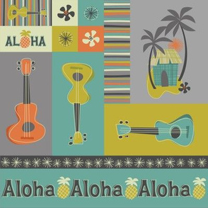 Ukulele Aloha: Crafty Patches