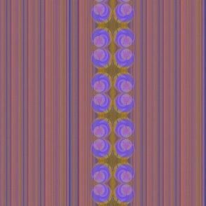 Stripes and violets