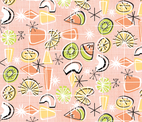 Fruity '50s fabric by graceful on Spoonflower - custom fabric