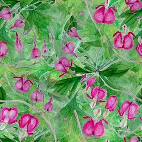 Bleeding_heart_toss_bunch_leaves_seamless_double