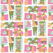 Waikiki with a little tiki