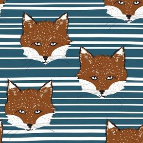 Foxy Stripe (sienna/cobolt)