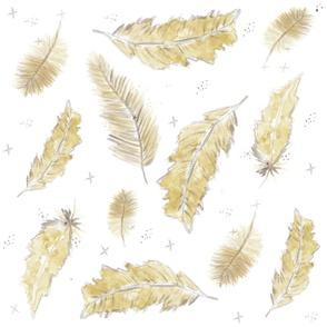 Mustard Feathers