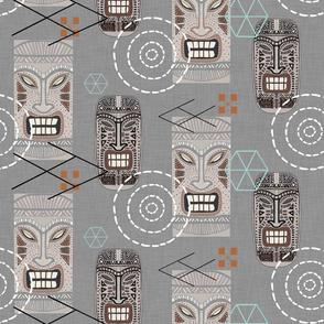 Tiki Town Retro (Gray Version)