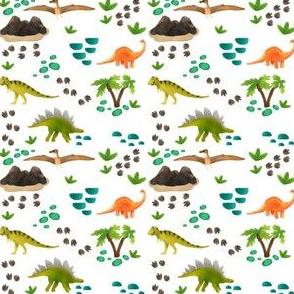Dinosaurs tiny