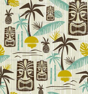 Island Tiki - Tan