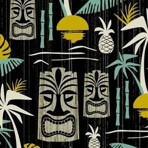 Island Tiki - Black