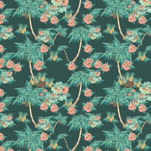 hawaii pattern dark