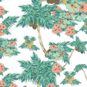tropical retro kitch