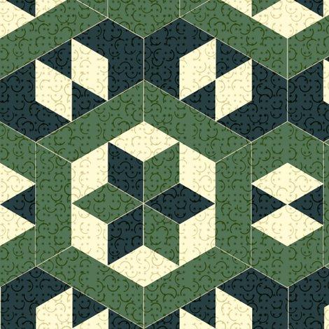 Rrrtextured_green_hexagons_and_diamonds_shop_preview