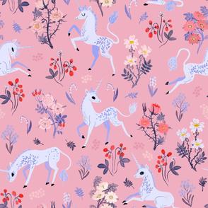 Unicorns in a Rose Garden