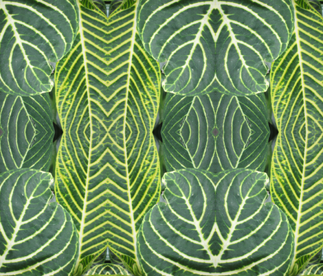 Green_Goddess fabric by elise_camp on Spoonflower - custom fabric