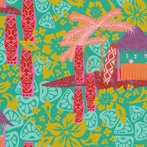 Mod 60s Tiki Island