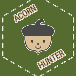 Acorn Hunter in Green