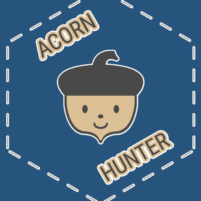 Acorn Hunter in Blue