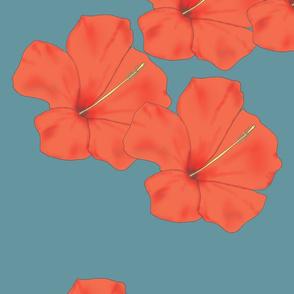 Orange_Hibiscus_on_Teal_flat