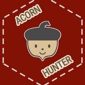 Acorn Hunter in Red
