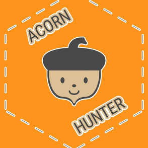 Acorn Hunter in Orange