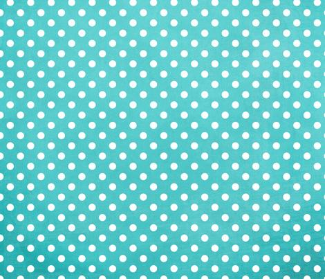 Summer Fun Turquoise Blue Polka Dots fabric by jnd-fabric on Spoonflower - custom fabric