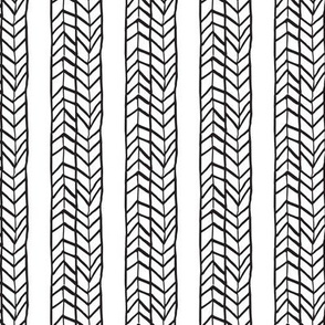 Black and White Ethnic arrows