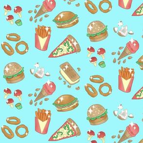 Vegan junk food-classic