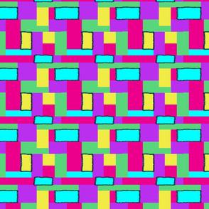 Cool geometrics with yellow