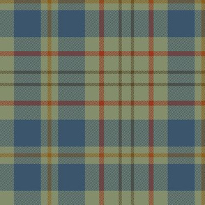 "Kildare County tartan - 6"" weathered light"