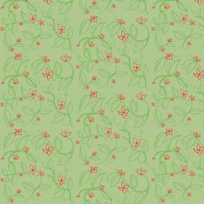 Isley's Vines (light green)