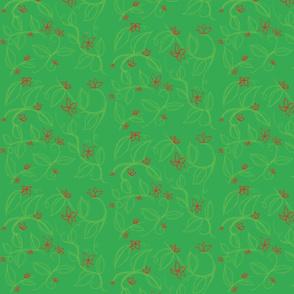 Isley's Vines (green)