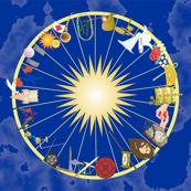 A Circle of Tarot Trumps