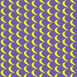 Moon on Purple