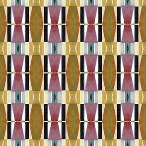 Watercolor Triangulation Umber