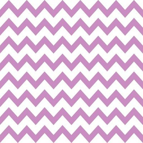 violet chevron fabric