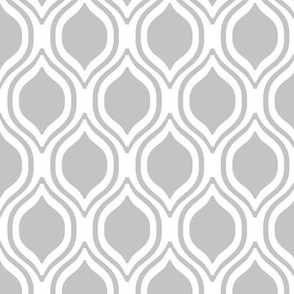 grey ogee fabric