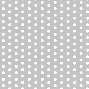grey dots fabric nursery baby design