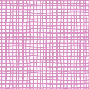 grid fabric violet nursery design baby girl grid fabric