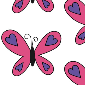 Savvy's Pink Butterfly
