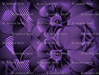 Turbulence in purple