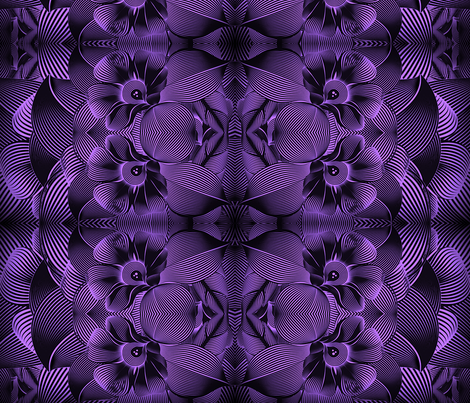 Turbulence in purple fabric by whimzwhirled on Spoonflower - custom fabric