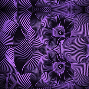 Turbulence in purple