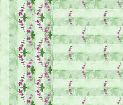 bleeding_heart_border_4 fabric by khowardquilts on Spoonflower - custom fabric