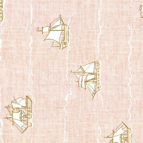 Fable Fleet (blush linen) Railroad