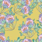 Crocus Vintage Floral