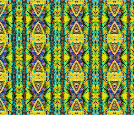 TIKI TRIBAL SURFBOARD STRIPES fabric by paysmage on Spoonflower - custom fabric