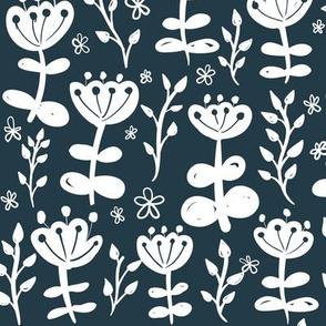 Navy Blooms