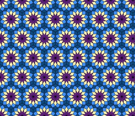 06515645 : SC3 V234R : night bloom fabric by sef on Spoonflower - custom fabric