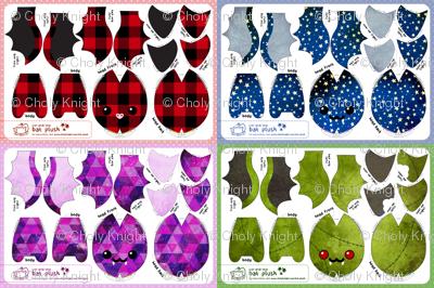 Cut & Sew Bat Compilation Dark