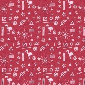 Doodle Sampler - Red