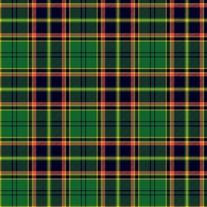 "Antrim Irish district tartan, 6"" green"