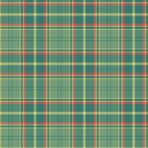 "Antrim Irish district tartan, 6"" faded"